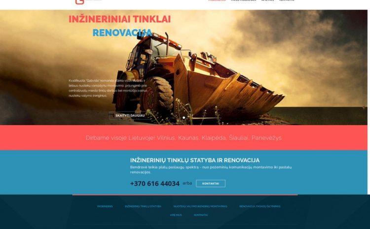 Gabvida - Inžineriniai tinklai ir renovacija