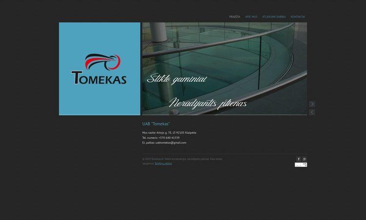 Tomekas - Stiklo gaminiai, nerūdijantis plienas